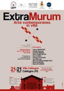 LOCANDINA - Extra Murum Villa Caldogno